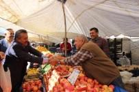 PAZARCI ESNAFI - Başkan Tutal Pazar Esnafıyla Buluştu