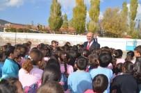 ÇOCUK OYUNU - Çocuklardan Başkan Gülcüoğlu'na Sevgi Seli