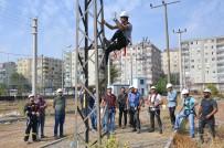 Dicle Elektrik'ten 3 Bin 500 Personele Yüksekte Çalışma Eğitimi