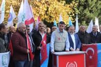 ÇIN HALK CUMHURIYETI - Doğu Türkistan'daki Zulme Karşı Ses Verdiler