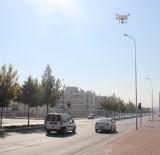 KIRMIZI IŞIK - Droneli Polislerden 74 Sürücüye 19 Bin Lira Ceza