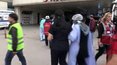 Düzce'de Hastanede Deprem Ve Yangın Tatbikatı