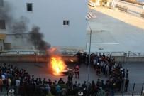 KAYAHAN - Elazığ'da Yurtta Yangın Tatbikatı Yapıldı