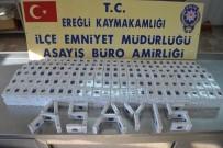 Ereğli'de Kaçak Sigara Operasyonu