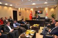 NURULLAH KAYA - Eski Bakan Eroğlu'nun Şuhut Ziyaretleri