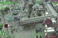 İSTANBUL EMNİYET MÜDÜRLÜĞÜ - Fatih'te 22 İş Yerine Helikopterli Baskın