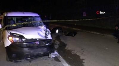 Hafif Ticari Araçla Motosiklet Çarpıştı Açıklaması 2 Ölü, 1 Yaralı