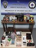 ELEKTRONİK SİGARA - Isparta'da Kaçak Elektronik Sigara Operasyonu