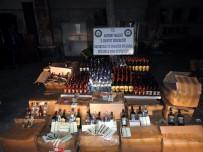 Kayseri'de Yılbaşında Piyasaya Sürülecek Kaçak İçki Ele Geçirildi