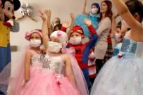 Kayseri Şehir Hastanesi'nden Lösemili Çocuklara Moral Etkinliği