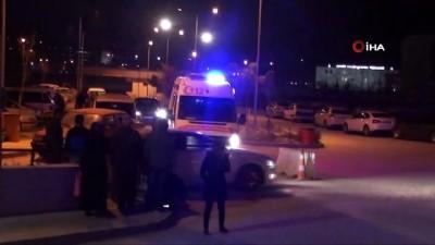 Kontrolden Çıkan Otomobil Baraja Uçtu Açıklaması 5 Yaralı