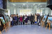 ZİYARETÇİLER - Meram Belediyesinde Yağlı Boya Resim Sergisi Açıldı