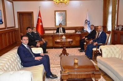 MHP Heyetinden, Vali Baruş'a Ziyaret