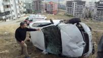 Otomobil Devrildi Açıklaması 3 Yaralı