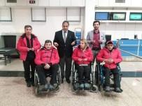 TEKERLEKLİ SANDALYE - Tekerlekli Sandalye Curling Milli Takımı Dualarla Uğurlandı