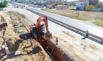 KANALİZASYON - Uşak'ta Altyapıya Yatırım Devam Ediyor