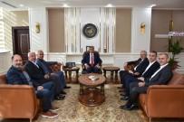 FUAT GÜREL - Vali Gürel'e 'Hayırlı Olsun' Ziyaretleri