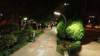 AYDINLATMA DİREĞİ - Yürüyüş Yolu Işıl Işıl Oldu