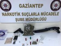 POMPALI TÜFEK - 10 Adrese Eş Zamanlı Uyuşturucu Operasyonu Açıklaması 7 Gözaltı