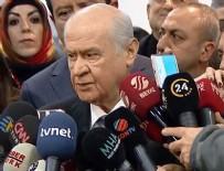 MHP - Bahçeli'den son dakika 'Cumhur İttifakı' açıklaması