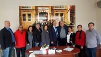PIR SULTAN ABDAL KÜLTÜR DERNEĞI - Çeşme CHP'den Sivil Toplum Kuruluşlarına 'Seçim' Ziyareti