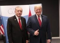 JAPONYA BAŞBAKANI - Cumhurbaşkanı Erdoğan, ABD Başkanı Trump'la Bir Araya Geldi