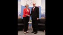 THERESA MAY - Cumhurbaşkanı Erdoğan, İngiltere Başbakanı May'le Bir Araya Geldi