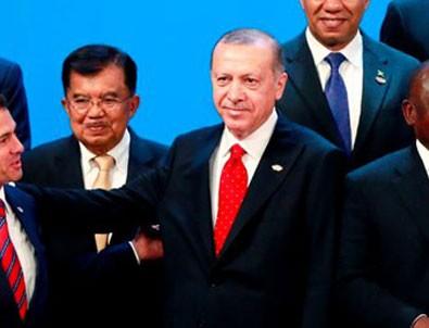 Cumhurbaşkanı Erdoğan G-20'de Trump ve Putin ile görüşecek