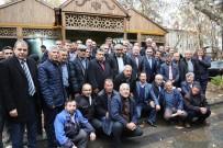MURAT DURU - Develi'de Muhtarlarla Kasım Ayı Toplantısı Yapıldı