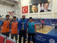DALYAN - Haliliye Belediyespor Masa Tenisi Takımı Başarı Sağladı