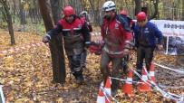 HELİKOPTER KAZASI - Helikopter Kaza Tatbikatı Nefes Kesti