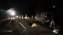 Iğdır'da İki Otomobil Çarpıştı Açıklaması 7 Yaralı