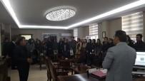 ERCAN ÖTER - Kağızman'da Yeni Göreve Başlayan Öğretmenler Kaymakam Öter'e Ziyaret