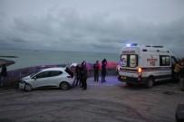 MUSTAFA KÖSE - Samsun'da Trafik Kazası 1 Yaralı