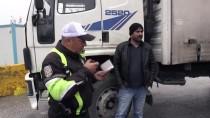 Sanayi Kentinde 'Kış Lastiği' Denetimi