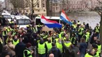 LAHEY - 'Sarı Yelekliler'in Protestosu Hollanda'ya Sıçradı