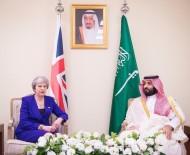 THERESA MAY - Suudi Veliaht Prensi, İngiltere Başbakanı May İle Görüştü