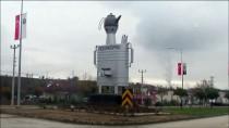 PATENT - Vezirköprü'de 'Dev Semaver Maketi' İlgi Çekiyor