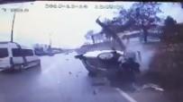 HALK OTOBÜSÜ - 3 Kişinin Yaralandığı Kazanın Görüntüleri Ortaya Çıktı