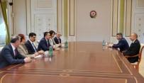 AZERBAYCAN CUMHURBAŞKANI - Azerbaycan Cumhurbaşkanı Aliyev, Bakan Pakdemirli'yi Kabul Etti
