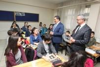 MEHMET KESKIN - Başkan Köşker'den Öğrencilere Sürpriz Ziyareti