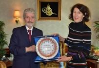 BÜYÜKELÇİLER - Büyükelçilerden Başkan Tuna'ya Ziyaret