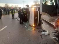 YENICEKÖY - Çanakkale'de Trafik Kazası Açıklaması 4 Ölü, 16 Yaralı