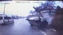 KANBER - Feci Kaza Güvenlik Kamerasında