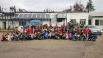 Minik Öğrenciler, Jandarma Komutanlığını Ziyaret Etti
