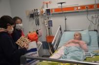LÖSEMİ HASTASI - Öğrencilerden Lösemi Hastası Çocuklara Moral Ziyareti