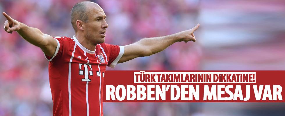 Robben'den transfer açıklaması