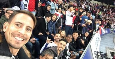 Trabzonspor'lu Futbolcular Copa Libertadores Finalini İzledi