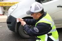KIŞ LASTİĞİ - Trafik Ekipleri Kış Lastiği Denetimlerine Başladı