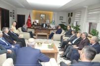 KAYSERİ ŞEKER FABRİKASI - Türk-İş Kayseri Şube Başkanları Kayseri Şeker'de